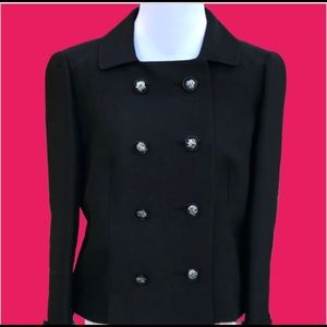 Vintage black Nora Zandre jacket with union tags